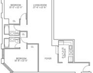 2 Bedrooms, Newport Rental in NYC for $3,775 - Photo 2
