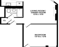 1 Bedroom, Hell's Kitchen Rental in NYC for $2,200 - Photo 2