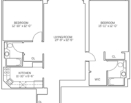2 Bedrooms, Newport Rental in NYC for $3,625 - Photo 1