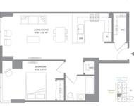 1 Bedroom, Newport Rental in NYC for $2,813 - Photo 1
