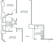 2 Bedrooms, Newport Rental in NYC for $3,285 - Photo 1