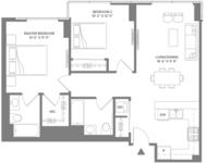 2 Bedrooms, Newport Rental in NYC for $3,436 - Photo 1