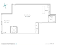 Studio, SoHo Rental in NYC for $6,800 - Photo 1