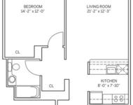 1 Bedroom, Newport Rental in NYC for $2,500 - Photo 1