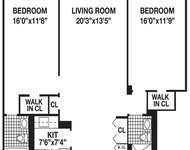 2 Bedrooms, Battery Park City Rental in NYC for $5,161 - Photo 1