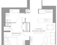 1 Bedroom, Newport Rental in NYC for $3,370 - Photo 1