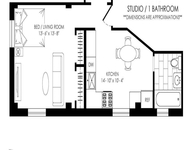 Studio, Manhattan Valley Rental in NYC for $2,595 - Photo 1