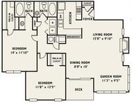 2 Bedrooms, Smyrna Rental in Atlanta, GA for $1,083 - Photo 1