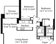 2 Bedrooms, West End Rental in Boston, MA for $3,670 - Photo 2