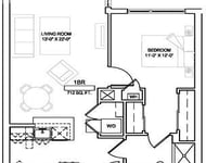 1 Bedroom, Faulkner Rental in Boston, MA for $2,138 - Photo 1