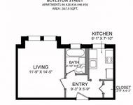 Studio, West Fens Rental in Boston, MA for $1,800 - Photo 1