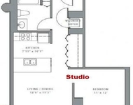 Studio, Dearborn Park Rental in Chicago, IL for $1,744 - Photo 2