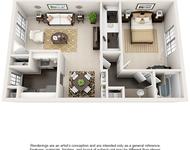 1 Bedroom, Barkley Square South Rental in Houston for $770 - Photo 1