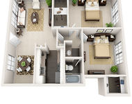1 Bedroom, Barkley Square South Rental in Houston for $770 - Photo 2