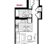 Studio, Fulton River District Rental in Chicago, IL for $1,542 - Photo 1