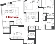 3 Bedrooms, Dearborn Park Rental in Chicago, IL for $3,461 - Photo 2