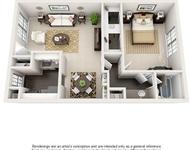 1 Bedroom, Barkley Square South Rental in Houston for $758 - Photo 1