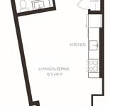 Studio, Seaport District Rental in Boston, MA for $2,948 - Photo 1