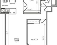 1 Bedroom, Harrison Lenox Rental in Boston, MA for $3,280 - Photo 1