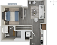 Studio, Downtown Boston Rental in Boston, MA for $2,447 - Photo 1