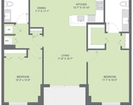 2 Bedrooms, South Bay Estates Rental in Miami, FL for $2,531 - Photo 1