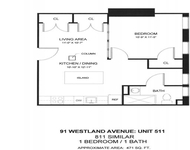 1BR at 94 Westland Ave. - Photo 1