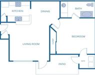1 Bedroom, Alden Landing Apartments Rental in Houston for $900 - Photo 1