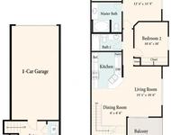 2 Bedrooms, Terra Vista Rental in Los Angeles, CA for $2,007 - Photo 1