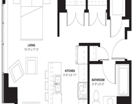 Studio, Evanston Rental in Chicago, IL for $1,903 - Photo 1