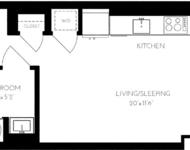 Studio, Seaport District Rental in Boston, MA for $2,475 - Photo 1