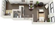 Studio, Financial District Rental in NYC for $2,368 - Photo 1