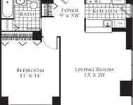 1 Bedroom, Hell's Kitchen Rental in NYC for $3,487 - Photo 1