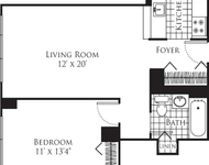 1 Bedroom, Hell's Kitchen Rental in NYC for $3,859 - Photo 1