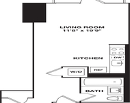 Studio, Hell's Kitchen Rental in NYC for $3,228 - Photo 1