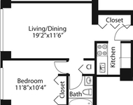 1 Bedroom, Rose Hill Rental in NYC for $2,836 - Photo 1