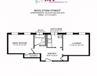 1 Bedroom, West Fens Rental in Boston, MA for $2,050 - Photo 1