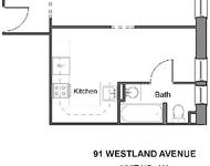 Studio, Fenway Rental in Boston, MA for $2,200 - Photo 1