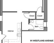 Studio, Fenway Rental in Boston, MA for $2,350 - Photo 1