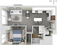 1 Bedroom, Downtown Boston Rental in Boston, MA for $3,686 - Photo 1