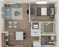 1 Bedroom, Natick Rental in Boston, MA for $3,235 - Photo 1