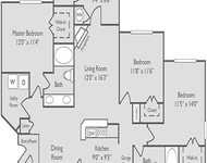 3 Bedrooms, Amli at Barrett Lakes Apartments Rental in Atlanta, GA for $1,412 - Photo 1