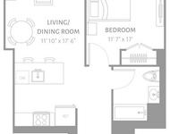 1 Bedroom, Newport Rental in NYC for $3,220 - Photo 2
