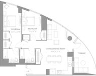 2 Bedrooms, Newport Rental in NYC for $4,595 - Photo 2