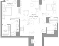 2 Bedrooms, Newport Rental in NYC for $4,530 - Photo 2