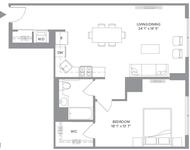 1 Bedroom, Newport Rental in NYC for $2,915 - Photo 2