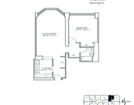 1 Bedroom, Newport Rental in NYC for $2,605 - Photo 2