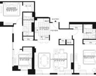 3 Bedrooms, Newport Rental in NYC for $4,970 - Photo 2