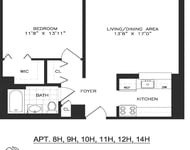 1 Bedroom, Chelsea Rental in NYC for $4,628 - Photo 2