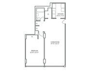 1 Bedroom, Newport Rental in NYC for $2,455 - Photo 2