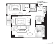 2 Bedrooms, Newport Rental in NYC for $3,820 - Photo 2